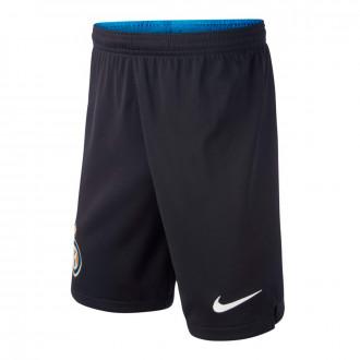 Calções  Nike Inter Milán Breathe Stadium Primera/Segunda Equipación 2019-2020 Niño Black-White
