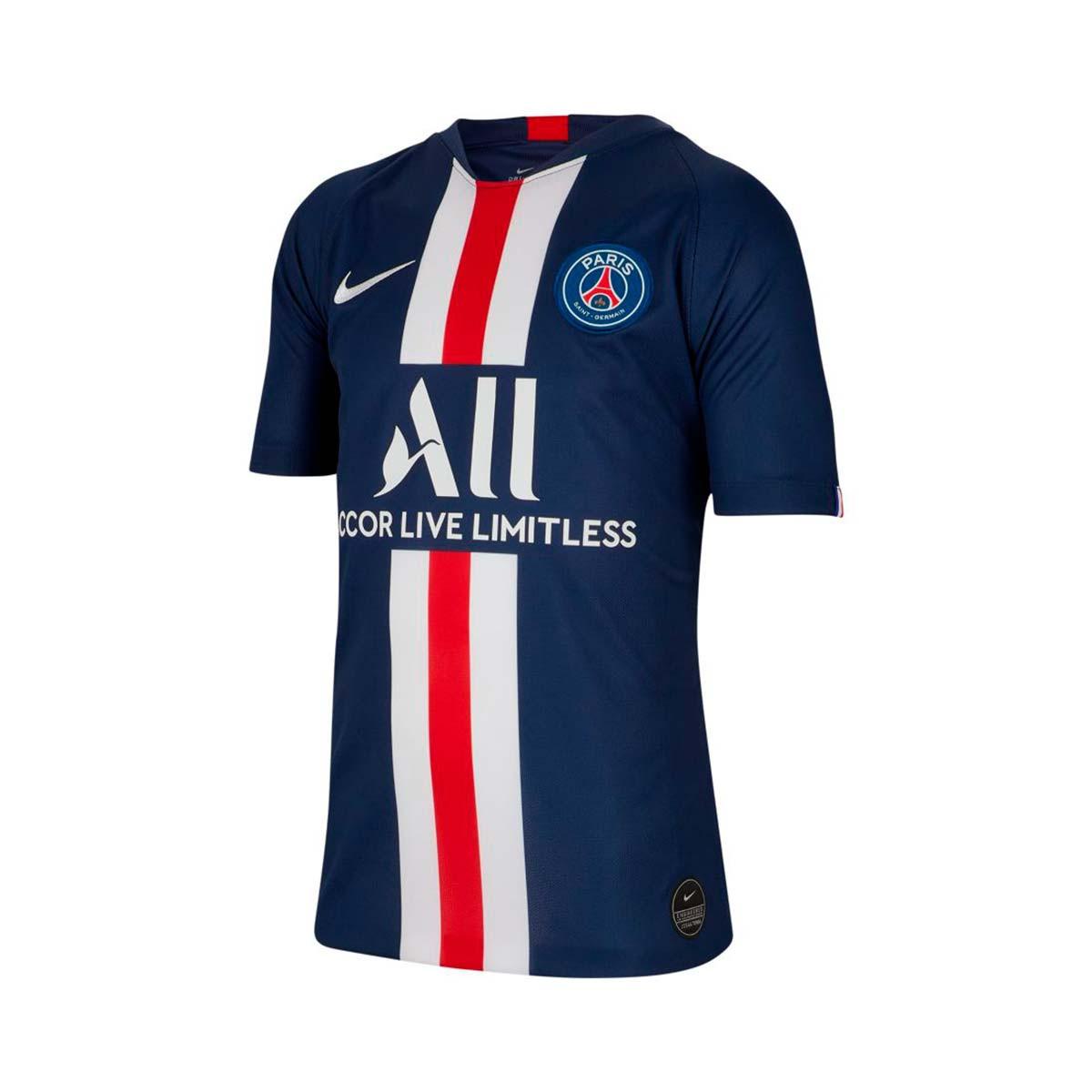 Nike Paris Saint-Germain Breathe Stadium SS Primera Equipación 2019-2020 Niño Jersey