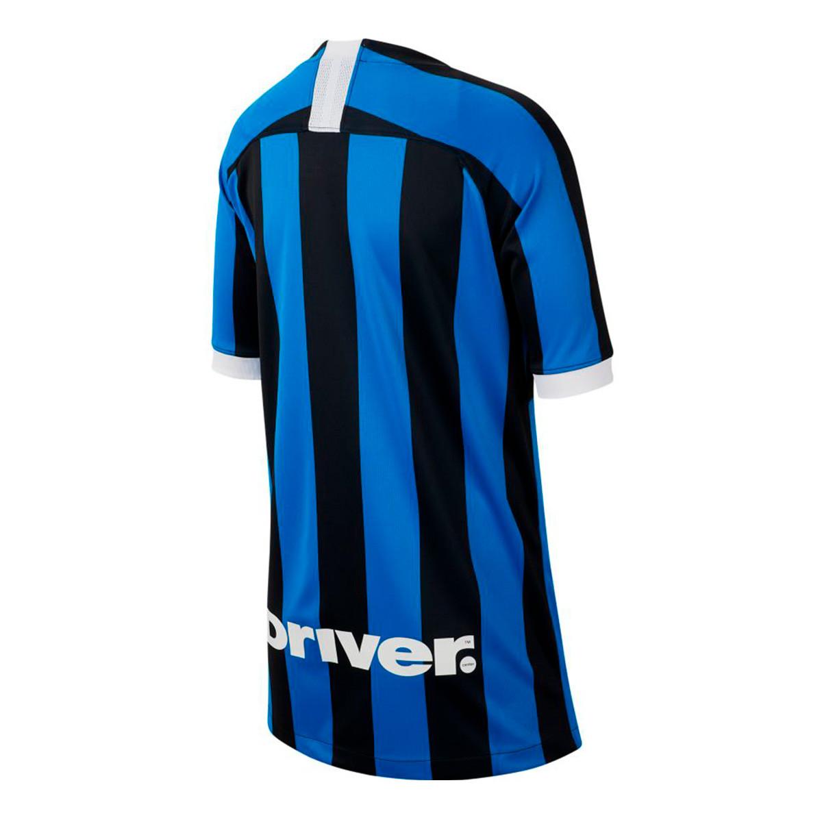 f23b2112dc9 Jersey Nike Inter Milán Breathe Stadium SS Primera Equipación 2019-2020  Niño Blue spark-White - Tienda de fútbol Fútbol Emotion