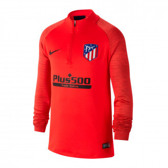 Sweat  Nike Atlético de Madrid Dry Strike Dril Top 2019-2020 enfant Challenge red-Black