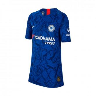 Playera  Nike Chelsea FC Vapor Match SS Primera Equipación 2019-2020 Niño Rush blue-White