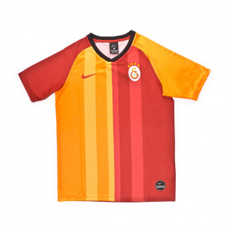 Jersey  Nike Galatasaray SK Breathe FTBL Top SS Primera Equipación 2019-2020 Niño Pepper red