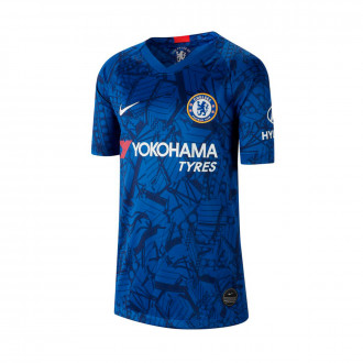 Maillot  Nike Chelsea FC Breathe Stadium SS Domicile 2019-2020 enfant Rush blue-White