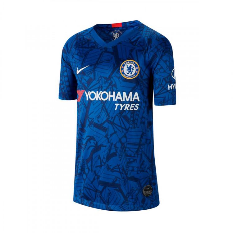 cheaper 60014 6792e Nike Chelsea Kids SS Home Shirt 2019/20