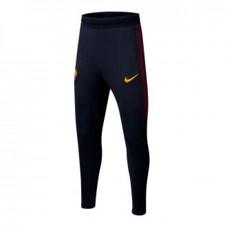 Long pants   Nike AS Roma Dry Strike KP 2019-2020 Niño Dark obsidian-University gold