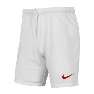 Pantaloncini Nike AS Roma Breathe Stadium Pantaloncini Stagione  2019-2020 Bambino White-Team crimson