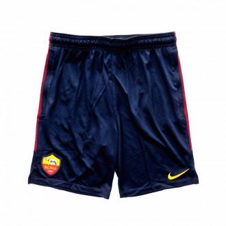 Shorts  Nike AS Roma Dry Strike KZ 2019-2020 Niño Dark obsidian-University gold