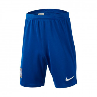 Short  Nike Chelsea FC Breathe Stadium Domicile Enfant 2019-2020 Niño Rush blue-White