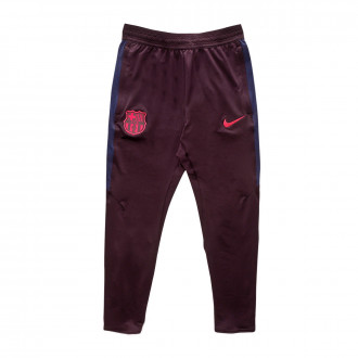 Pantaloni lunghi  Nike FC Barcelona Dry Strike KP 2019-2020 Niño Burgundy ash-Deep royal blue-Noble red