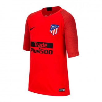 Camiseta Nike Atlético de Madrid Breathe Strike Top SS 2019-2020 Niño Challenge red-Black