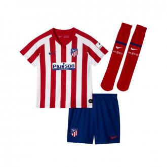 Conjunto Nike Atlético de Madrid Breathe Primera Equipación 2019-2020 Niño Sport red-White-Deep royal blue