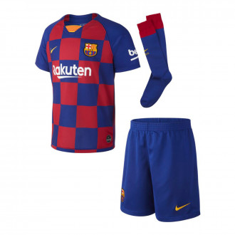 Conjunto  Nike FC Barcelona Breathe Primera Equipación 2019-2020 Niño Deep royal blue-Varsity maize
