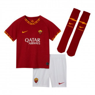 Completo Nike AS Roma Breathe Completo 2019-2020 Bambino Team crimson-University gold