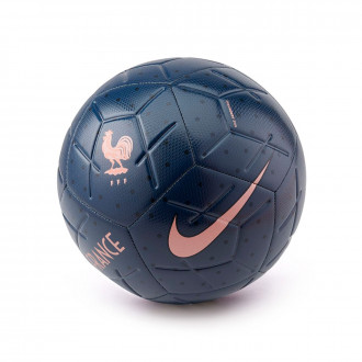 Bola de Futebol  Nike Selecção Francesa Strike 2018-2019 Midnight navy-Dark obsidian-Rose gold