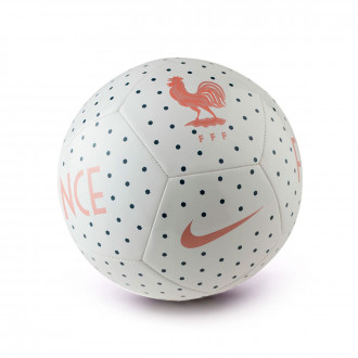 Balón  Nike Selección Francia Pitch 2018-2019 White-Midnight navy-Rose gold