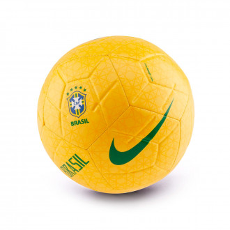 Ball  Nike Selección Brasil Strike 2018-2019 Midwest gold-Varsity maize-Lucky green