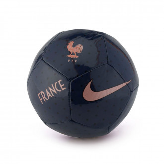 Ballon  Nike Equipe de France Skills 2018-2019 Midnight navy-Dark obsidian-Rose gold