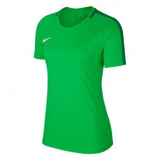 Maillot  Nike Academy 18 Training m/c Mujer Light green spark-Spine green-White