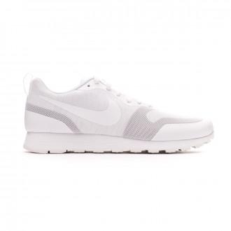 Zapatilla Nike MD Runner 2 19 White-Platinum tint