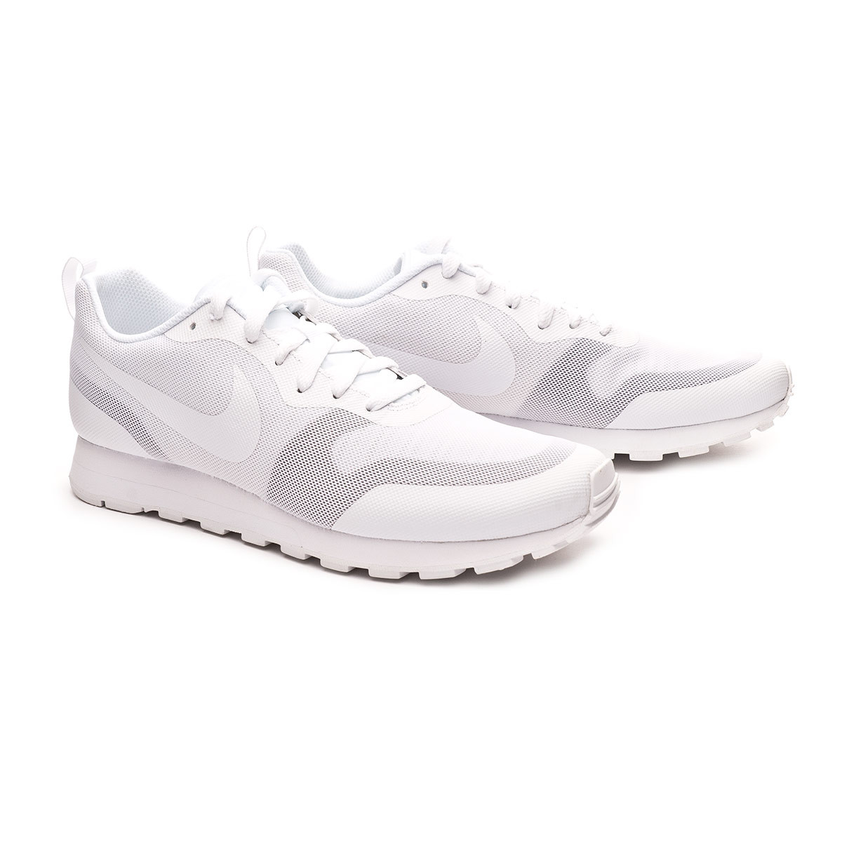 d34a0baff8b Trainers Nike MD Runner 2 19 White-Platinum tint - Football store ...