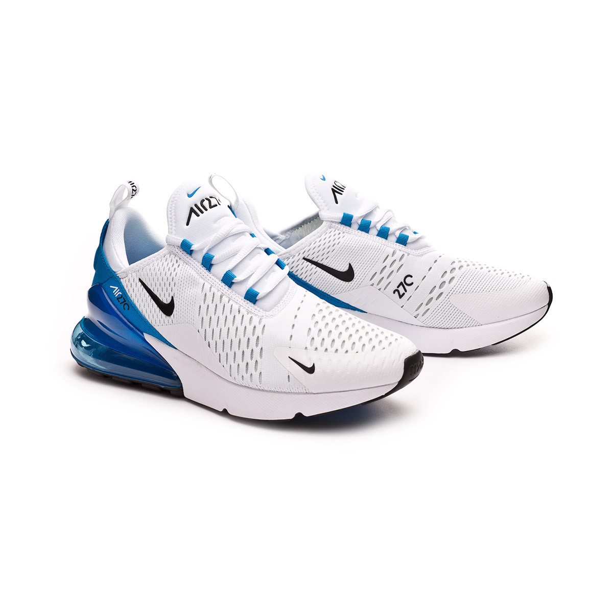 no sale tax ecd92 7aa4d Zapatilla Air Max 270 White-Black-Photo blue-Pure platinum