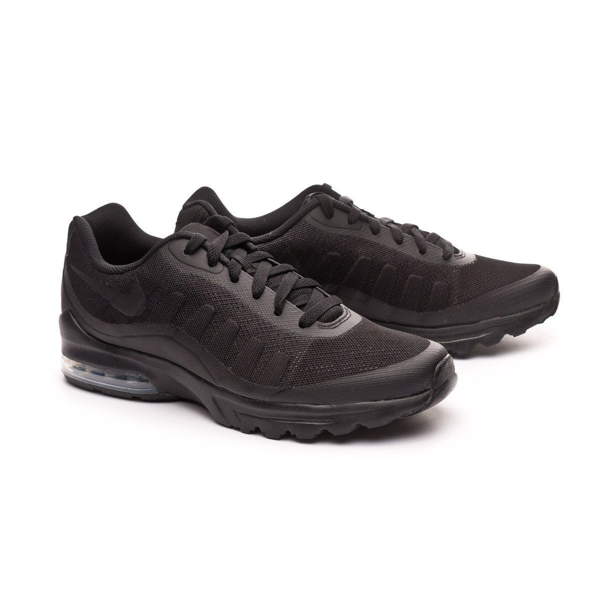nike black air max invigor trainers