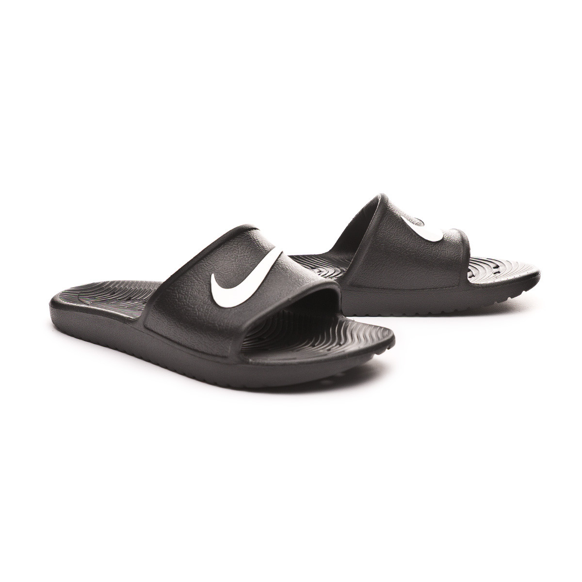 490e221c3 Flip-flops Nike Kawa Shower Black-White - Football store Fútbol Emotion