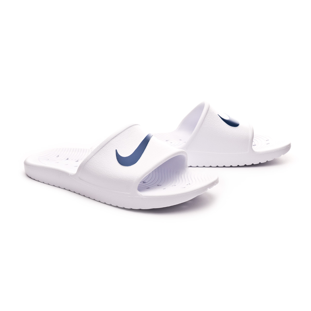 018d26ed7 Flip-flops Nike Kawa Shower White-Blue moon - Football store Fútbol ...