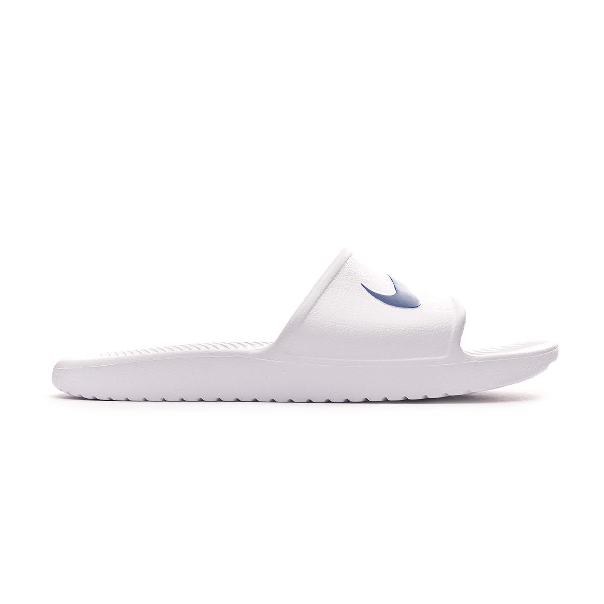 1e7526589 Flip-flops Nike Kawa Shower White-Blue moon - Football store Fútbol Emotion