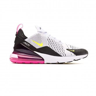 Trainers  Nike Air Max 270 White-Volt-Black-Laser fuchsia
