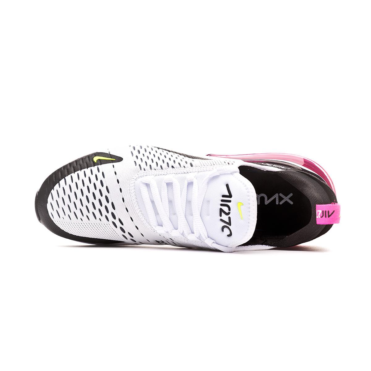 8862f1cd29f6d Trainers Nike Air Max 270 White-Volt-Black-Laser fuchsia - Football store  Fútbol Emotion