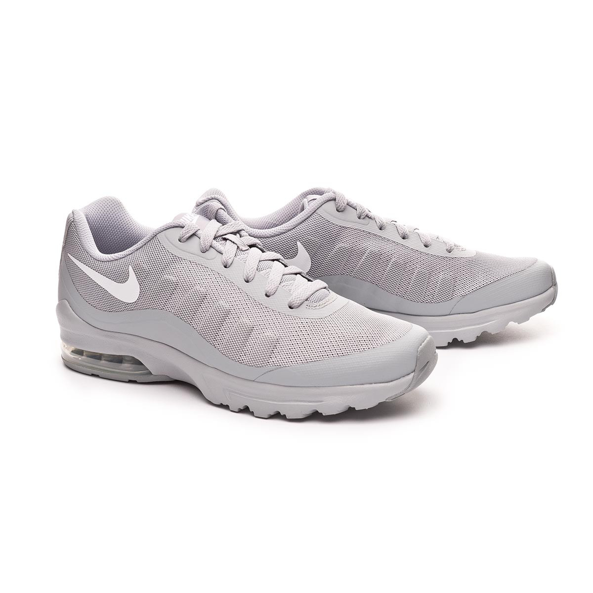 cdf98bb8f9 Trainers Nike Air Max Invigor Wolf grey-White - Football store Fútbol  Emotion