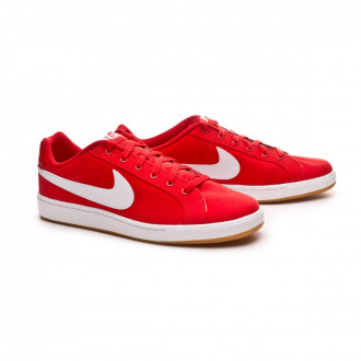 Sapatilha  Nike Court Royale Canvas University red-White-Gum light brown