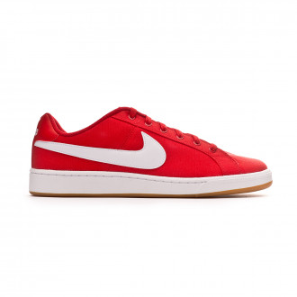 Zapatilla Nike Court Royale Canvas University red-White-Gum light brown