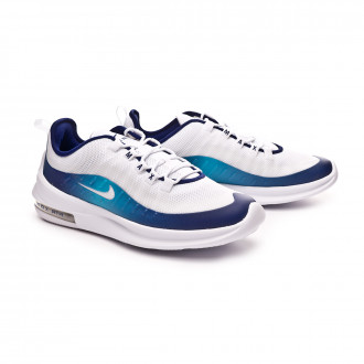 Sapatilha  Nike Air Max Axis Premium White-Regendy purple-Light blue fury