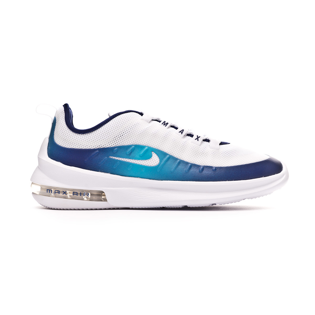 Zapatilla Air Max Axis Premium White Regendy purple Light blue fury