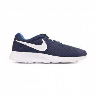 Zapatilla Nike Tanjun Midnight navy-White-Game royal