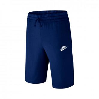 Pantalón corto Nike Sportswear Niño Blue void-White