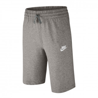 Pantalón corto  Nike Sportswear Niño Dark grey heather-Dark steel grey-White