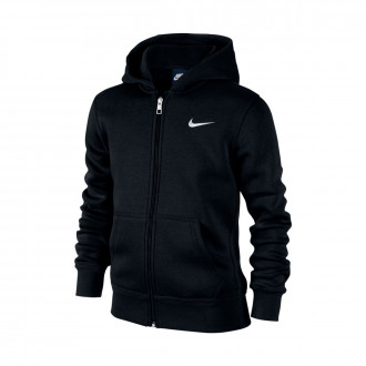 Sweatshirt  Nike Sportswear Hoodie Crianças Black-White