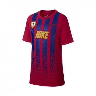 Camisola  Nike NSW Soccer Jersey Niño Noble red-Deep royal