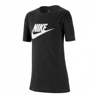 Camisola  Nike Sportswear Niño Black heather-White