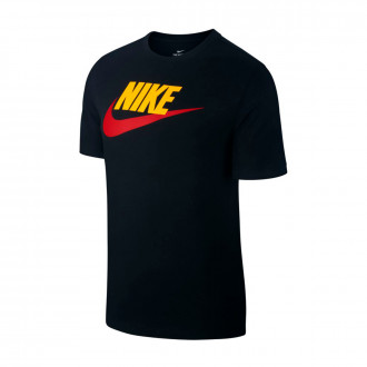 Camisola  Nike Sportswear Black-Amarelo-University red
