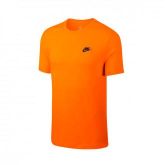 Camisola  Nike Sportswear Orange peel-White