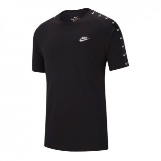 Camisola  Nike NSW Basketball Swoosh 2 Black-White