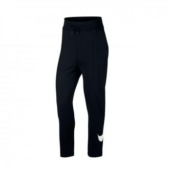 Pantalón largo  Nike Sportswear Mujer Black-White