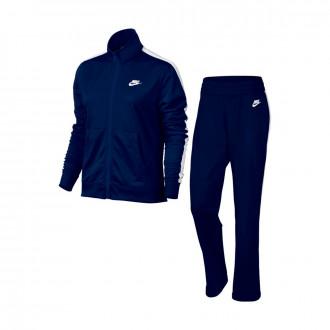 Fato de treino  Nike Sportswear Mulher Blue void-White