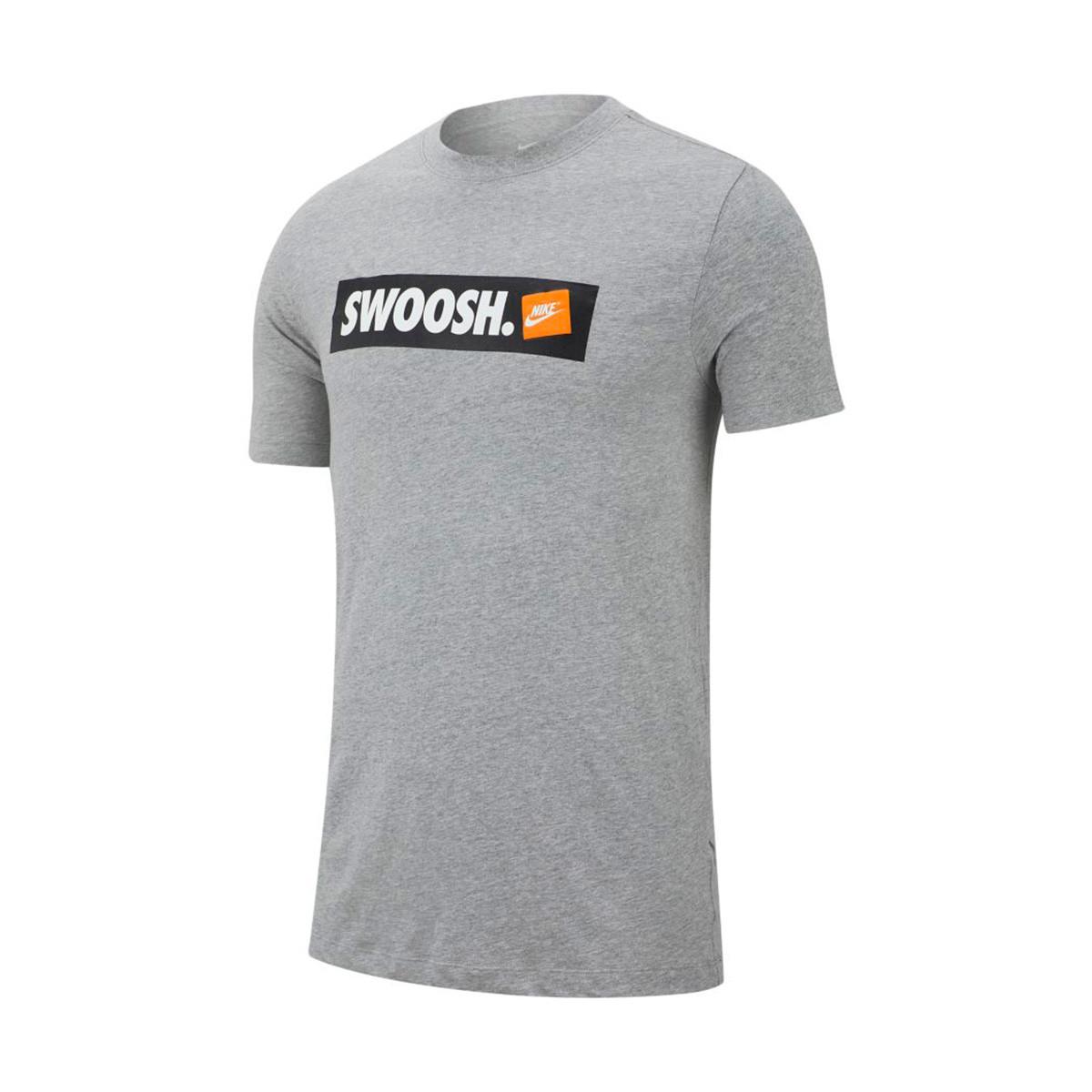 d869a7ab7b8f8 Jersey Nike Sportswear Swoosh Dark grey heather-White - Tienda de fútbol  Fútbol Emotion