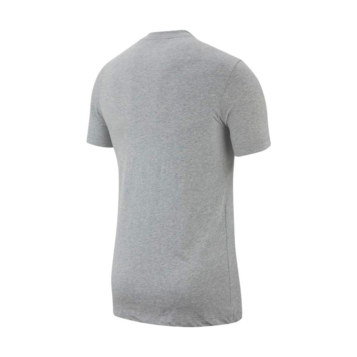 d84a8f54c1bfe Jersey Nike Sportswear Swoosh Dark grey heather-White - Tienda de ...