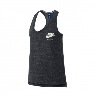 Maglia  Nike Sportswear Vintage Mujer Anthracite-Sail